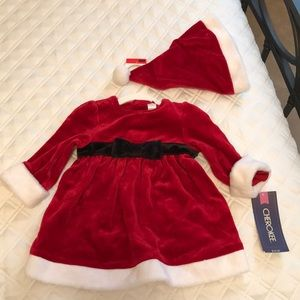 Christmas Dress with hat!